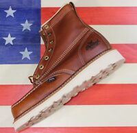 "Thorogood Womens 6"" American Heritage Wedge Soft-Toe Work Boot 514-4200 USA MADE"