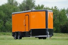 New ListingAluminum Legend 7 X 14 V Nose Enclosed Motorcycle Cargo Utv Trailer Light Weight