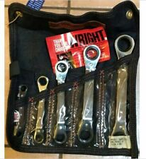 """Wright Tool 9429 5 Pc. Ratcheting Box Wrench Set 1/4""""-7/8"""""""