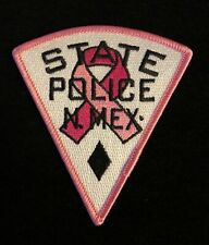 New Mexico NM State Police Highway Patrol Patch PINK CANCER AWARENESS