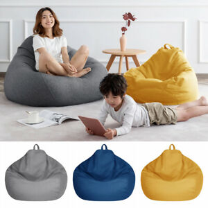 Couch Cover Snugly Gamer Chair Lazy Lounger Large Bean Bag Chair Sofa Cover