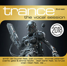 CD Trance The Vocal Session 2018 d'Artistes divers 2CDs