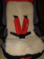 Genuine Sheepskin Liner Fur Wool Pram Stroller Car Seat Baby Children Buggy