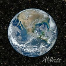 Out of this World Earth 110cm PANEL Hoffman outer space