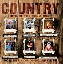 Country Hits of the 80s & 90s CD, 2016, Original Artists, 20 Tracks on 2 Discs