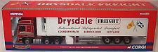 Corgi CC13606 DAF CF Fridge Trailer Drysdale Freight Ltd Ed No. 0001 of 1770