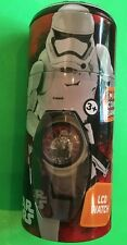 NWT STAR WARS STORM TROOPERS KIDS LCD WATCH & COIN BANK FAST SHIPPING!