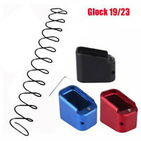 Tactical Magazines Extension Base Pad Kit For Glock G19 G23 G32 Aluminum Alloy