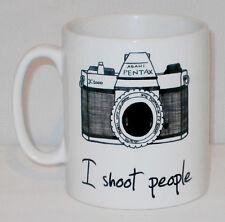 I Shoot People Mug Can Personalise Photography Photographer Funny Camera Gift