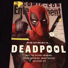 Entertainment Weekly Bonus Issue San Diego Comic Con 2015 Deadpool Ryan Reynolds