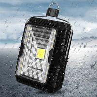 5W Outdoor Solar LED Light Flood Lantern Camping Tent Lights USB Rechargable