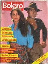 BOLERO 1980 Ornella Muti Celentano Sandro Giacobbe Giorgio Gaber Saverio Marconi