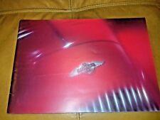 morgan sportscar brochure A4 colour plus 8. plus 4 plus 4/4