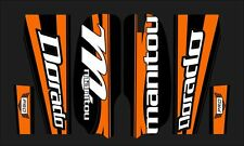 MANITOU DORADO PRO FORK / SUSPENSION DECAL SET ORANGE