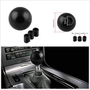 Aluminum Ball Shaped Gear Shift Knob Universal Fit For Car Manual Transmission