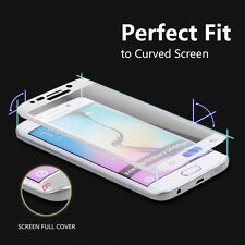 Full size 3D Tempered Glass Screen curved Protector Guard Samsung Galaxy S6 Edge