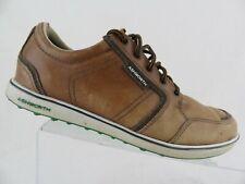 ASHWORTH Cardiff ADF Hybrid Sz 8 Men Brown Golf Shoes