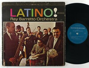 "Ray Barretto ""Latino!"" Latin Jazz Mambo LP Riverside"