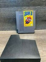Super Mario Bros. 3 - NES - Authentic - Tested - Game and Sleeve