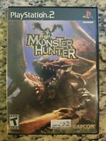 PS2 Monster Hunter PLAYSTATION TWO COMPLETE TESTED FREE SHIP EUC