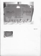 Maco 750 500 200 300 KW Linear Amplifier Repair Kit Capacitors/Transistors