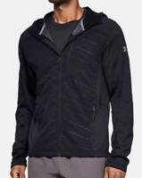 Under Armour Mens Coldgear Reactor Exert Full-Zip Hooded Jacket 1315103  L $150
