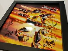 JUDAS PRIEST – Firepower – 1st press – FULLY SIGNED by the ORIGINAL LINEUP!