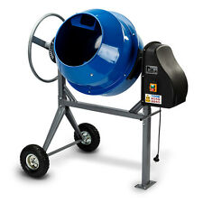 Baumr-AG CONMIXBMRB1K4 Portable Electric Concrete Mixer - 135 L