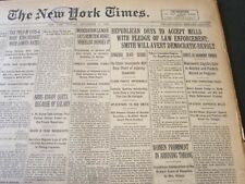 1926 SEPTENBER 27 NEW YORK TIMES - REPUBLICAN DRYS TO ACCEPT MILLS - NT 6547