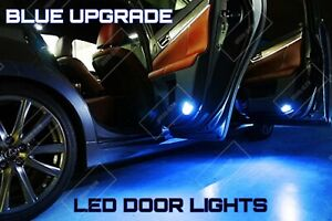For RANGE ROVER VOGUE L322 LED ICE BLUE Courtesy Puddle Door Light Bulbs Upgrade