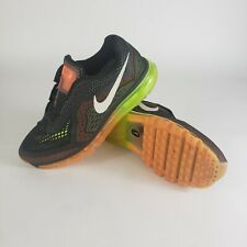 Nike Air Max Volt 2013 Black Atomic Orange Running Shoes Men's Size US 8.5 Read