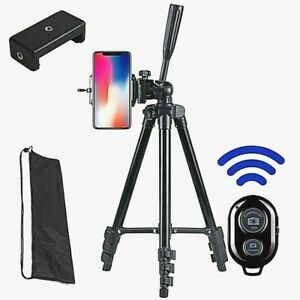 Phone Camera Tripod Adjustable Height Selfie Mount For Stable Records Shooting