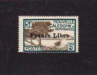 New Caledonia stamp #221, MHOG, VVF, 1941, SCV $13.50
