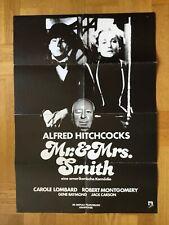 Mr. & Mrs. Smith (Kinoplakat ´80) - Alfred Hitchcock