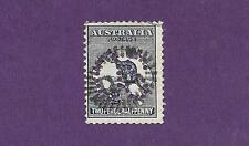 """1913 GOOD FIND """" 2 1/2d ROO """" LARGE OS ~ RARE STAMP ~ USED"""