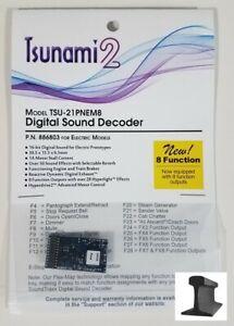 Soundtraxx 886803 Tsunami 2 TSU-21PNEM8 21 Pin Sound Decoder Electric 8 Function