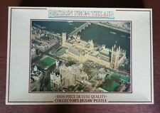 Britain from the air - Westminster - 1000 piece jigsaw by Gibsons games complete