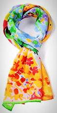 Silk Scarf Van Women Monet Famous Painter Painted Fancy Cravat Neckerchief New