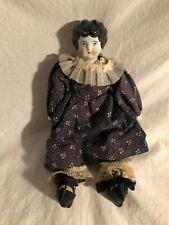 Antique Porcelain head china doll vintage