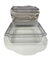 "Cambro Camview 24Cv335 Food Containers Clear Color 1/2 x 4"" Case Of 6"
