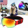 Snow Ski Goggles Men Anti-fog Lens Snowboard Snowmobile Motorcycle UV400 USA