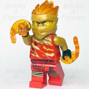 New Ninjago LEGO® Kai FS Secrets of the Forbidden Spinjitsu Slam Red Ninja 70684