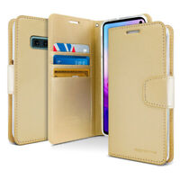 Shock Protective Flip wallet Leather Case For iPhone XS Galaxy S10 5G S9 Note LG