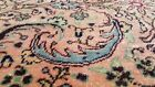 """Cr1930-1939s Antique Wool Pile Natural Dye Floral Hereke Runner Rug 2'x9'3"""""""