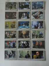 Stargate Atlantis Season 5     Full 20  Card  Set   SC1  -  SC18