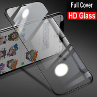 2X Full Cover Tempered Glass Screen Protertor For iPhone 12 11 Pro Max XS XR X 8