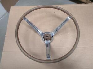 "65 66 Pontiac GTO Sport Wood Steering Wheel  Original 16"" Simulated"