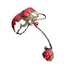 New Fashion New Stylish Cameo Red Rose Lace Fashion Jewelry Women Gift Xmas Y0L4