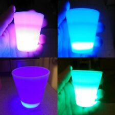 Shot Glass Multi Color Led Glow Light Up Bar Party Fun Night Game Decor Gift New
