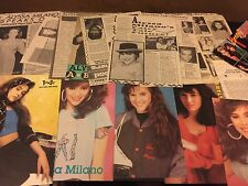 Alyssa Milano magazine clippings / cuttings